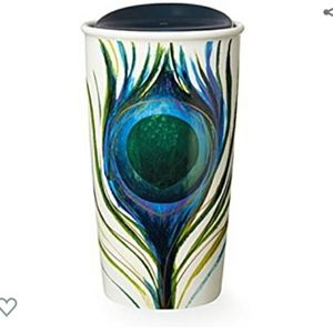 ❤ Starbucks Peacock Feather Cup